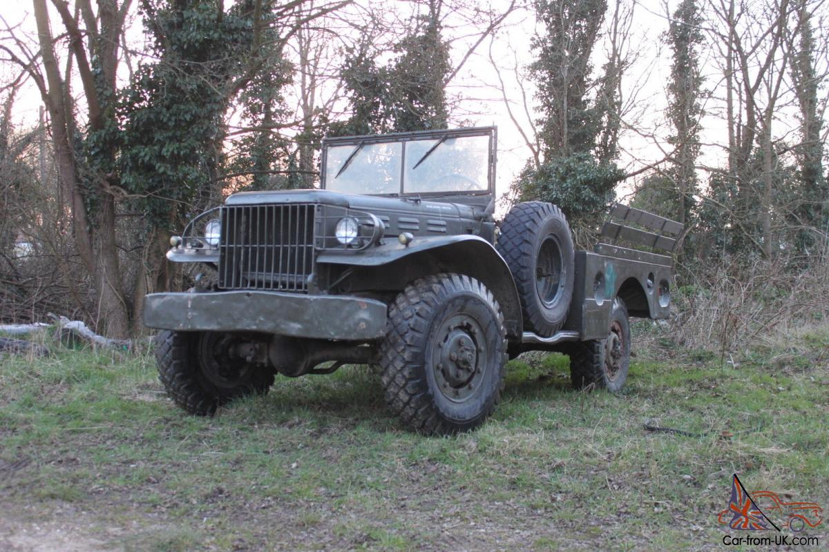 Dodge Wc51 Weapons Carrier 1942 Ww2 Wc 51 Lhd Left Hand Drive Not Jeep Tow Truck