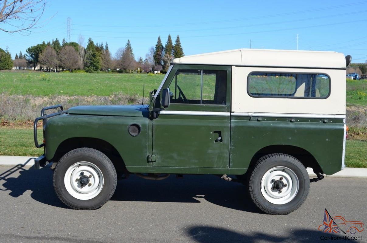 Range Rover Used For Sale >> 1975 Land Rover Series III 88