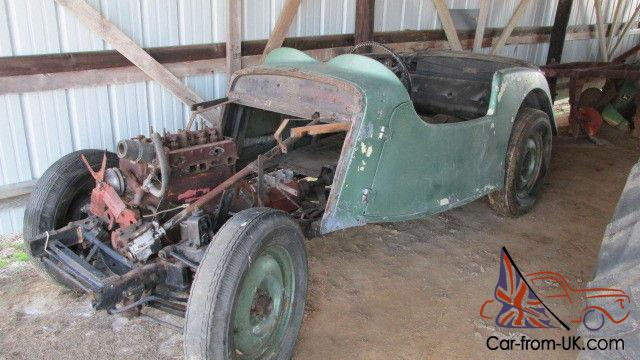 4ad Roadster Complete Car With Many Extra Parts Disassembled