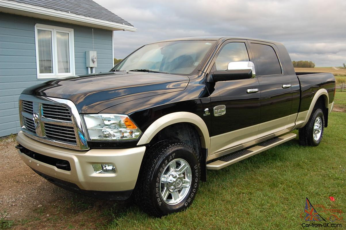 ram 2500 laramie longhorn 6 7 diesel mega cab. Black Bedroom Furniture Sets. Home Design Ideas