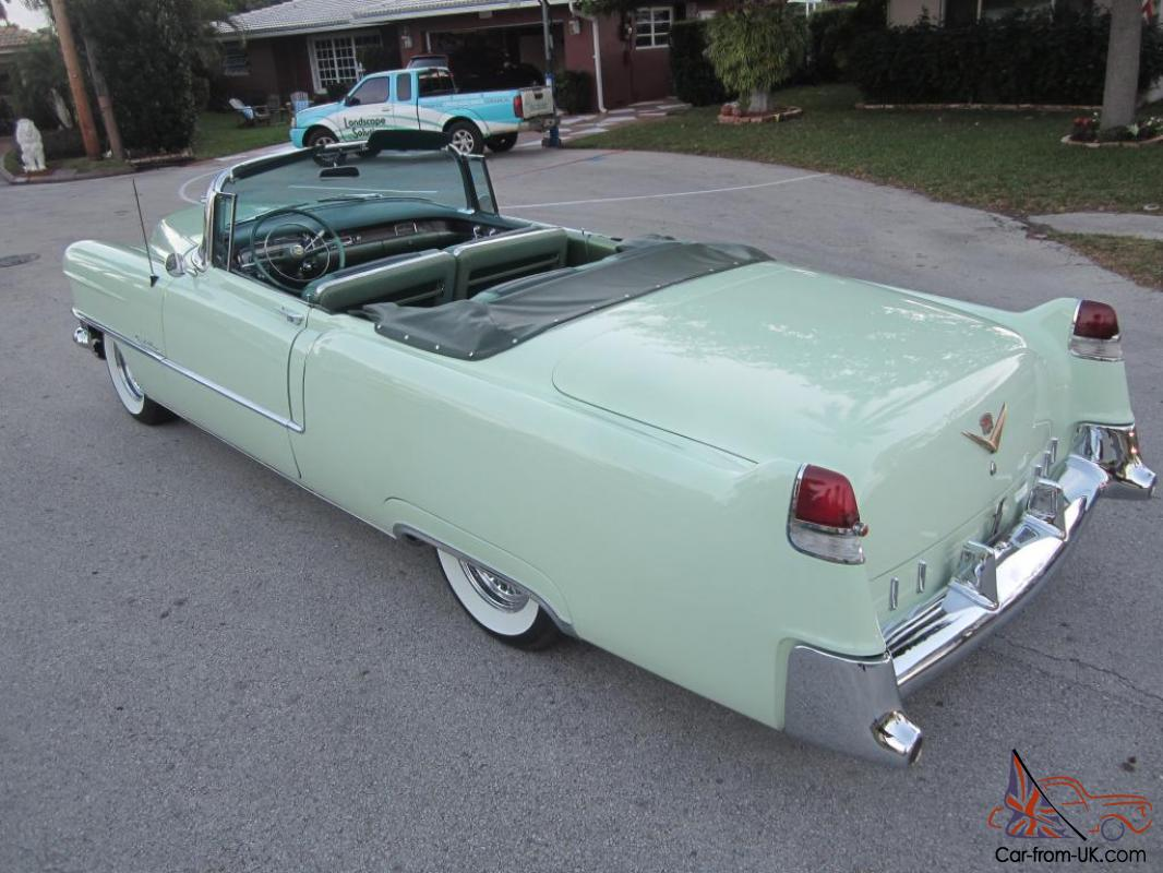1955 cadillac series 62 convertible ground up bolt and nut. Black Bedroom Furniture Sets. Home Design Ideas