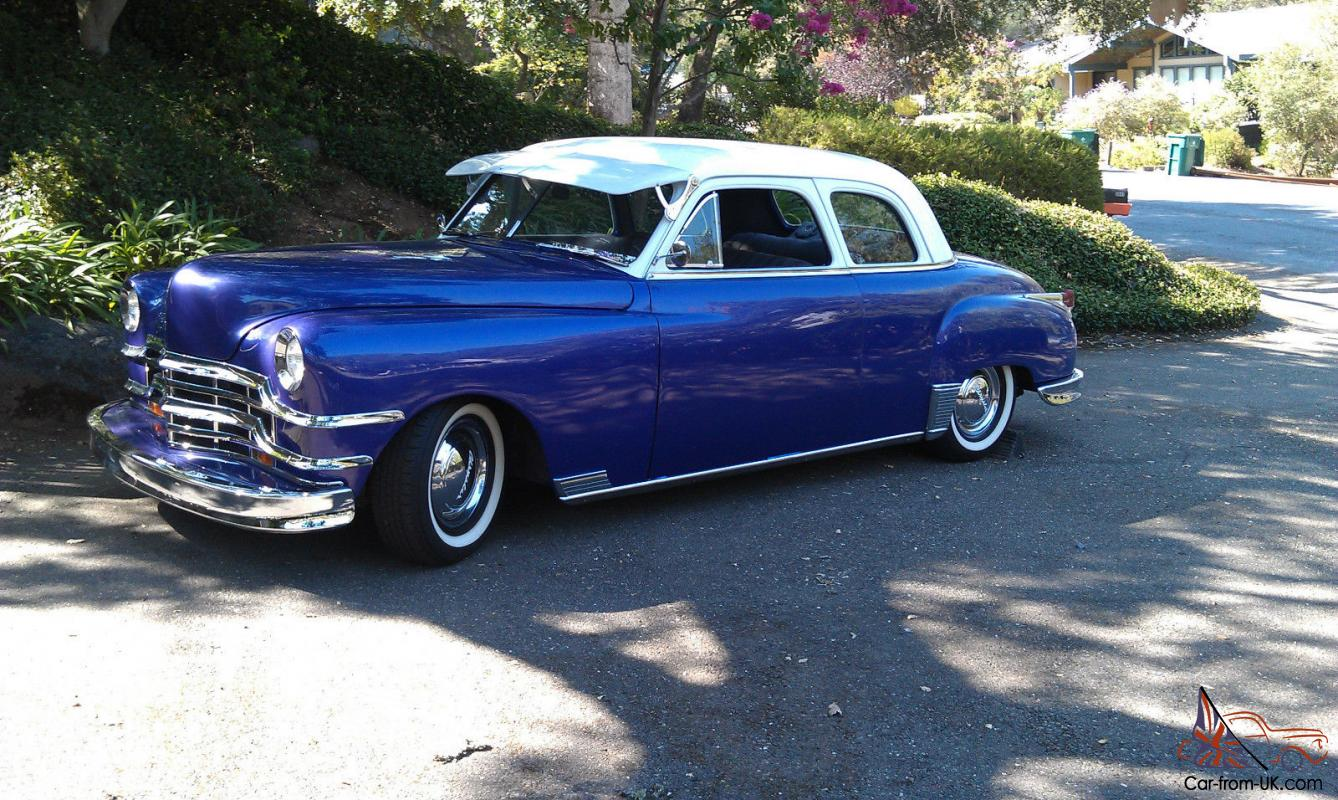 1949 Chrysler Royal Coupe Custom Street Rod Low Rider