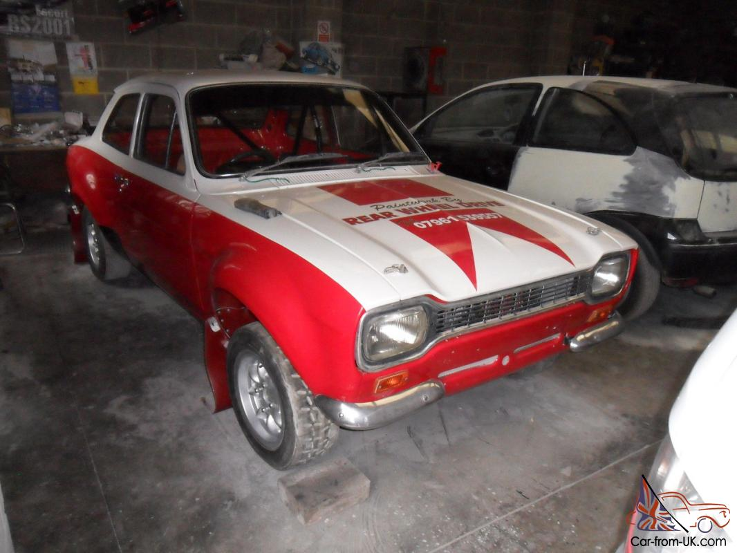 Escort MK1 MK2 Group 4 Historic Rally Car