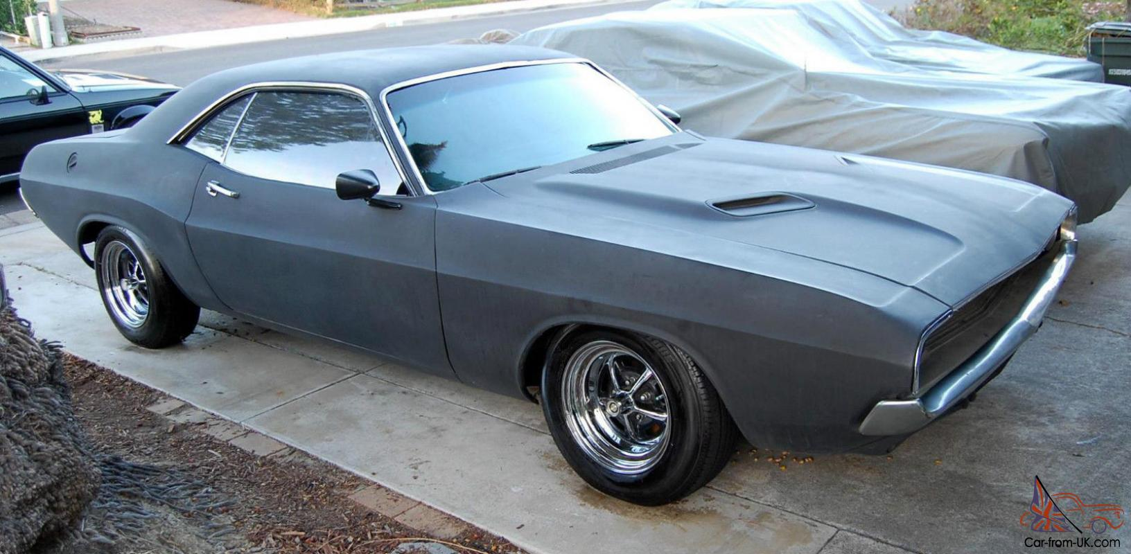 1974,1970 Dodge Challenger 440 magnum,RT, AC,used in movie Two Guns ...