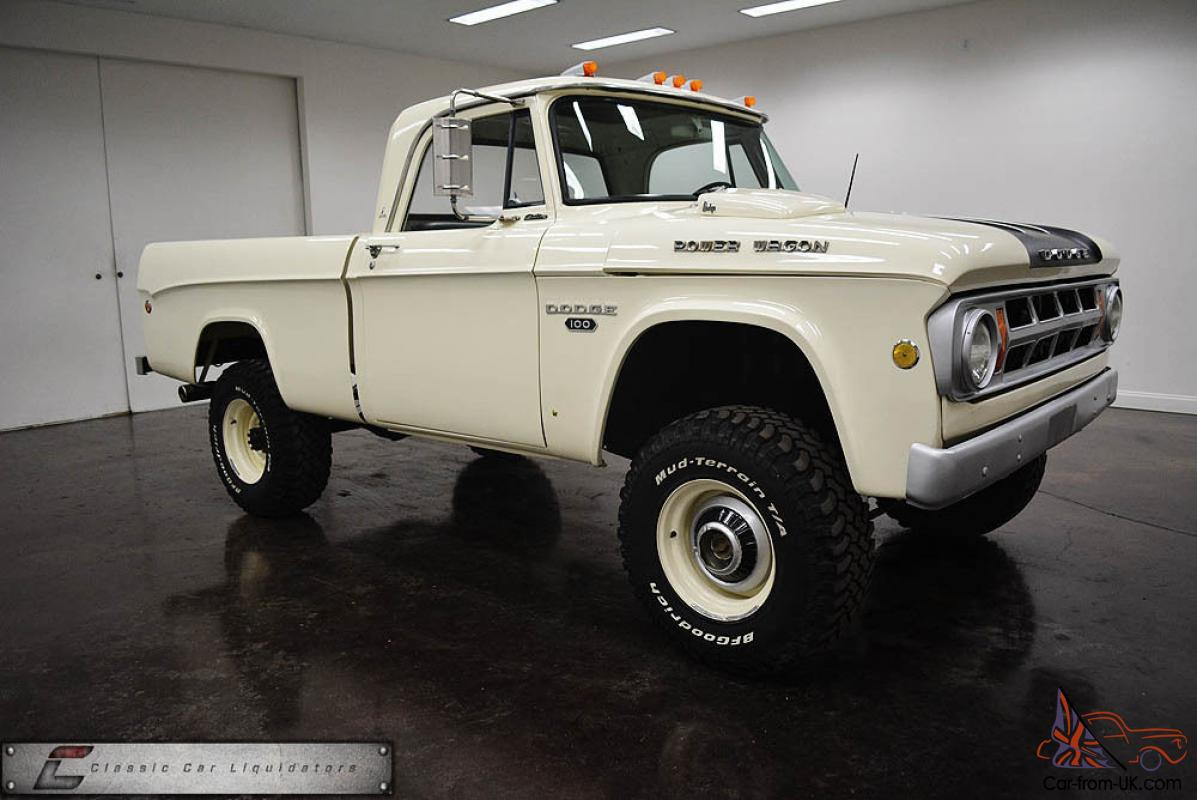 1968 dodge swb power wagon 4x4 cummins diesel very cool truck must see. Black Bedroom Furniture Sets. Home Design Ideas