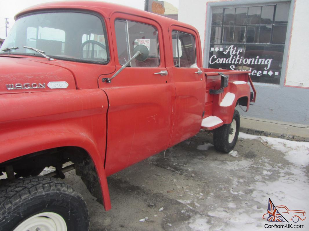 The Crew Cab Power Wagon Was A Production Model And They Did 1949 Dodge