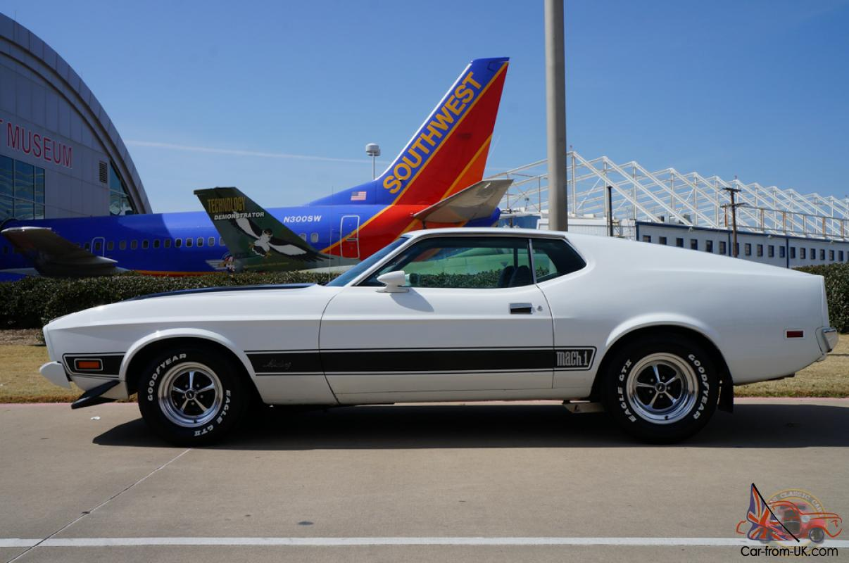 Ford mustang mach 1 351 cleveland for sale