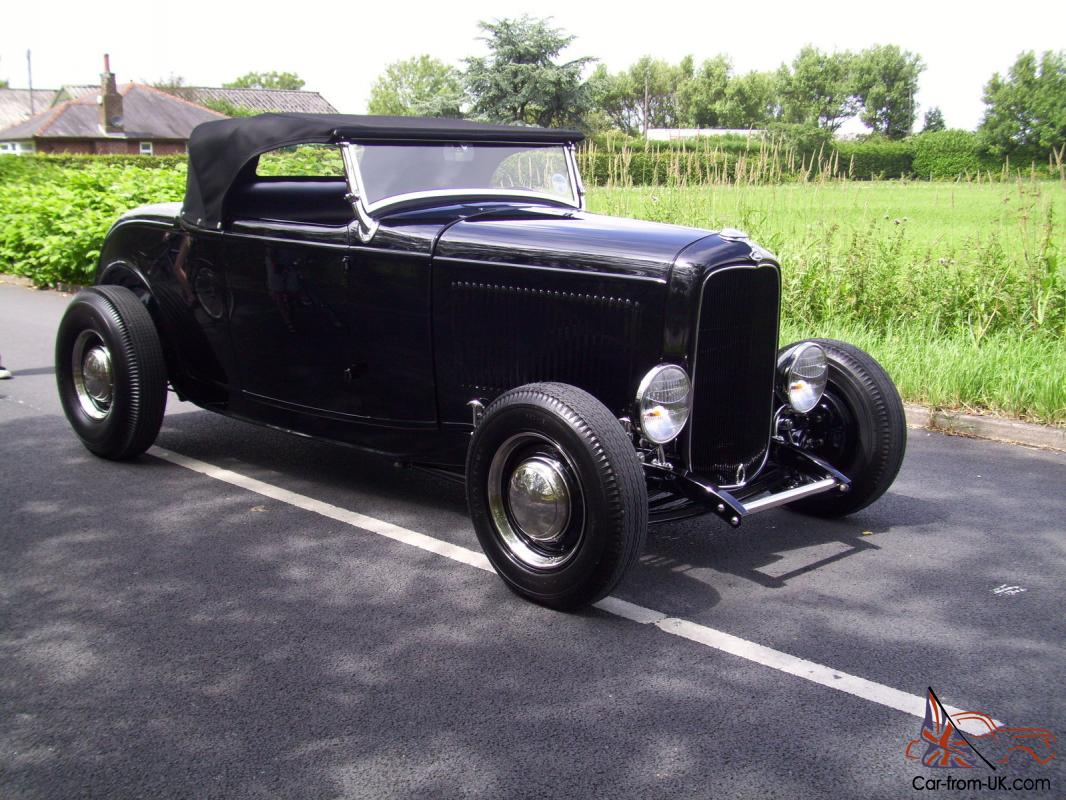 1932 ford model b roadster all steel hotrod custom