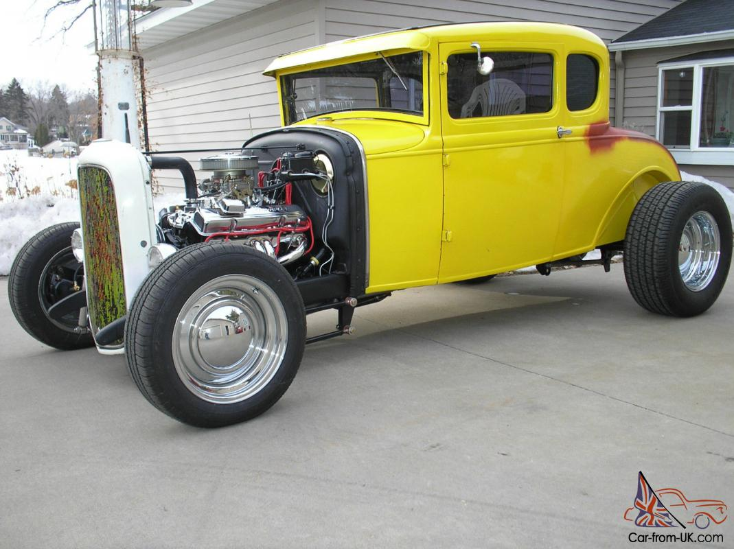 Model A Ford Coupe 1931