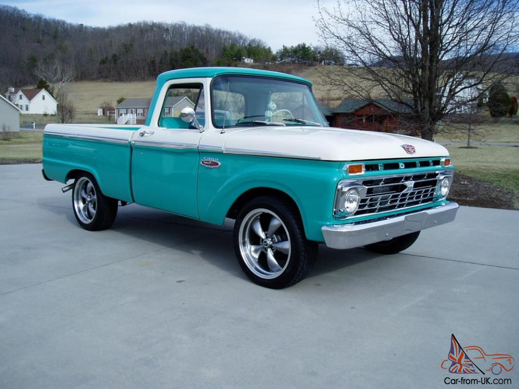 1966 ford f100 restored show truck numbers matching must see. Black Bedroom Furniture Sets. Home Design Ideas