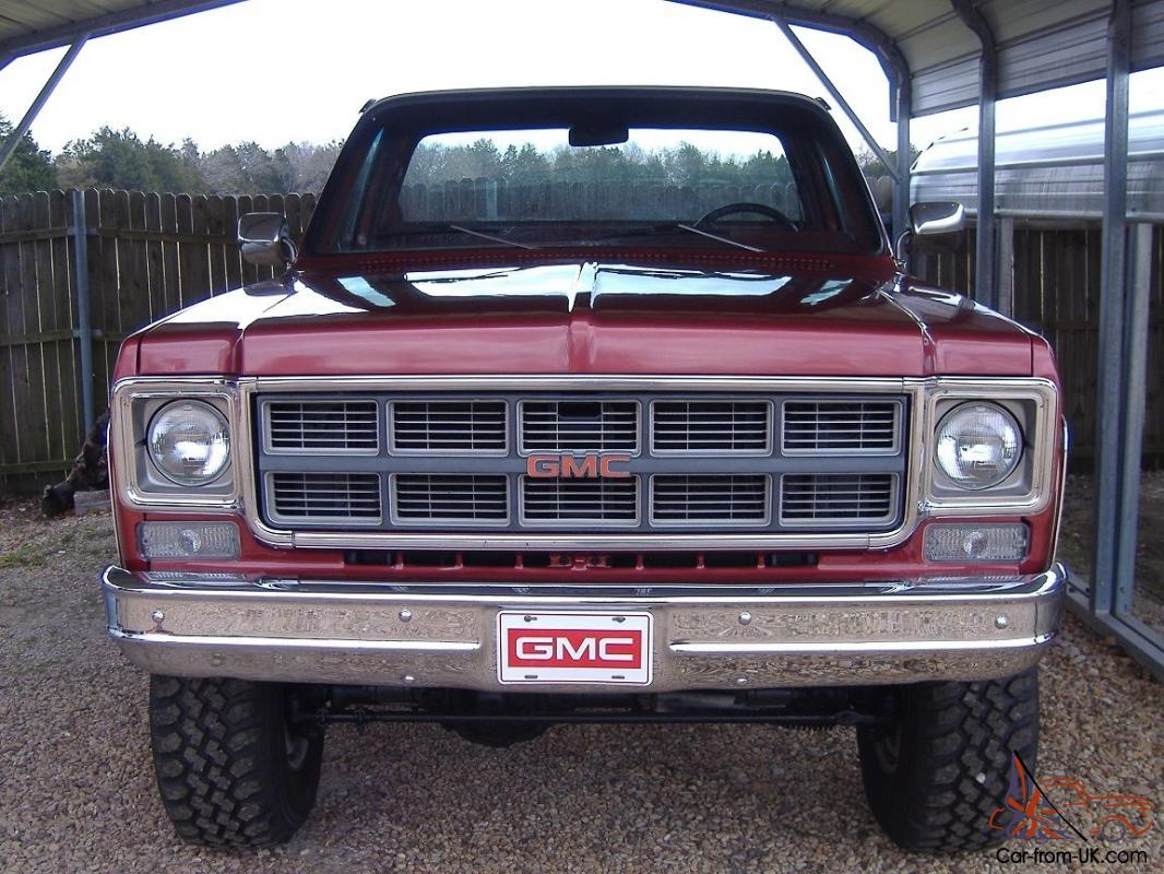 1978 gmc sierra grande 15 pictures to pin on pinterest