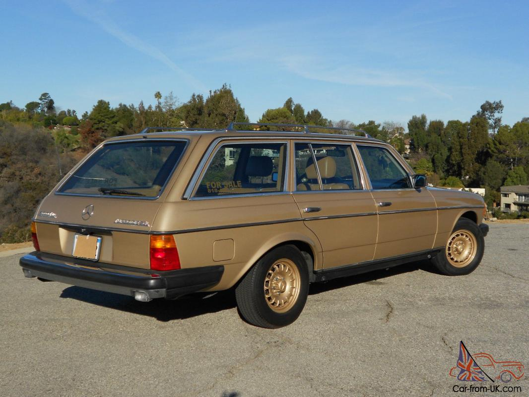 1985 mercedes benz 300 td station wagon for Mercedes benz diesel wagon