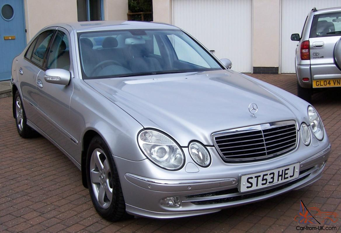 2003 mercedes e270 cdi avantgarde auto silver one owner. Black Bedroom Furniture Sets. Home Design Ideas