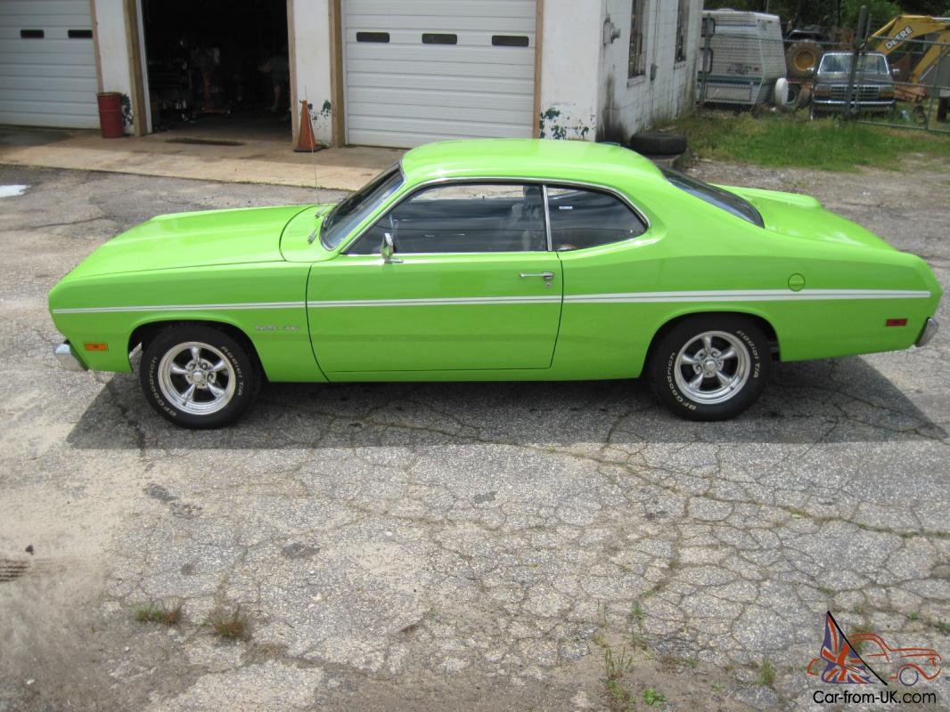 1970 plymouth duster 340 4speed factory sublime green nice car 2 owner car. Black Bedroom Furniture Sets. Home Design Ideas