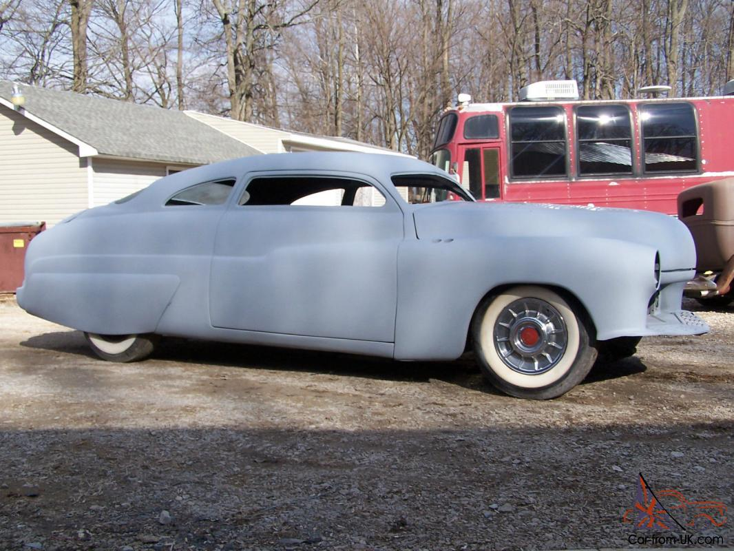 mercury custom 49 51 350 kustom chop top running project car