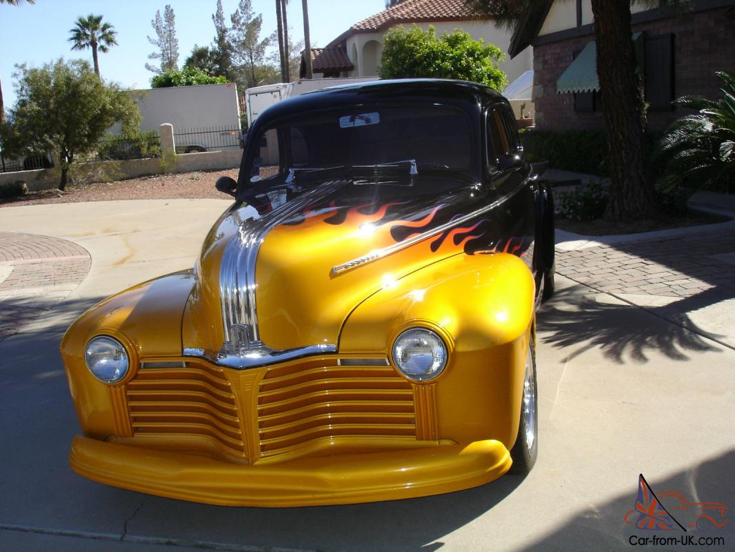 1941 Pontiac Coupew All The Creature Comforts Star Chief