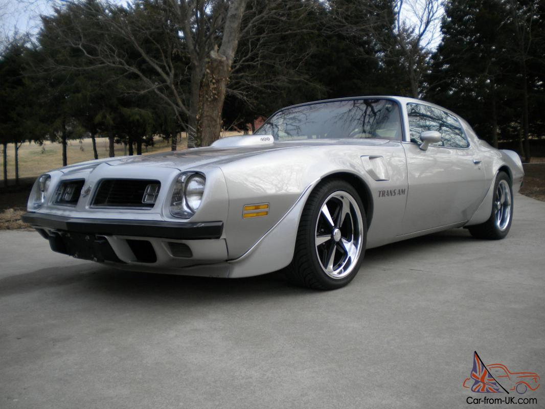 1975 Firebird Trans Am Hardtop Coupe Pro Touring