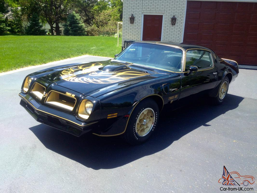 1976 pontiac trans am 50th anniversary s e 1 of 319 made. Black Bedroom Furniture Sets. Home Design Ideas