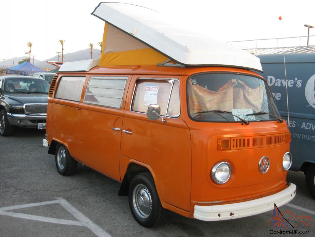 1973 vw bus westfalia pop top camper complete 2nd owner. Black Bedroom Furniture Sets. Home Design Ideas