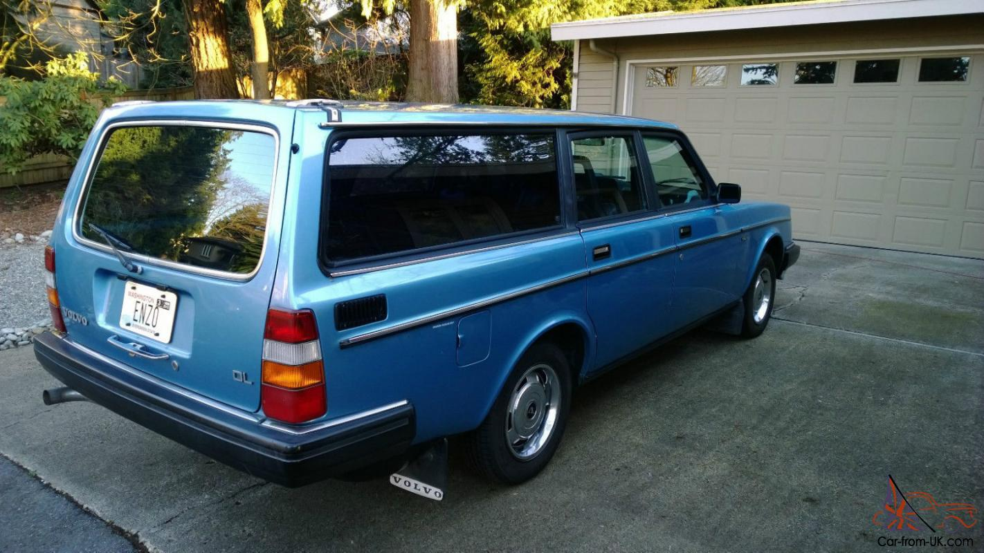 Volvo 240 DL Wagon - well-preserved, great for the Volvo ...