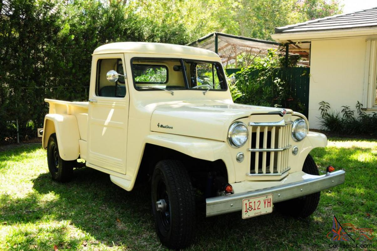 Images of Willys Jeep Pickups For Sale On Ebay