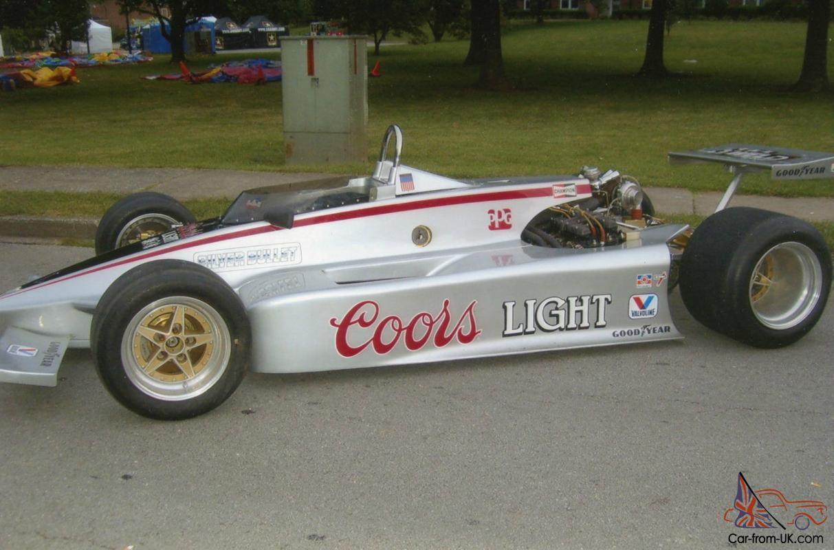 PROTOTYPE INDY CIRCLE TRACK RACE CAR