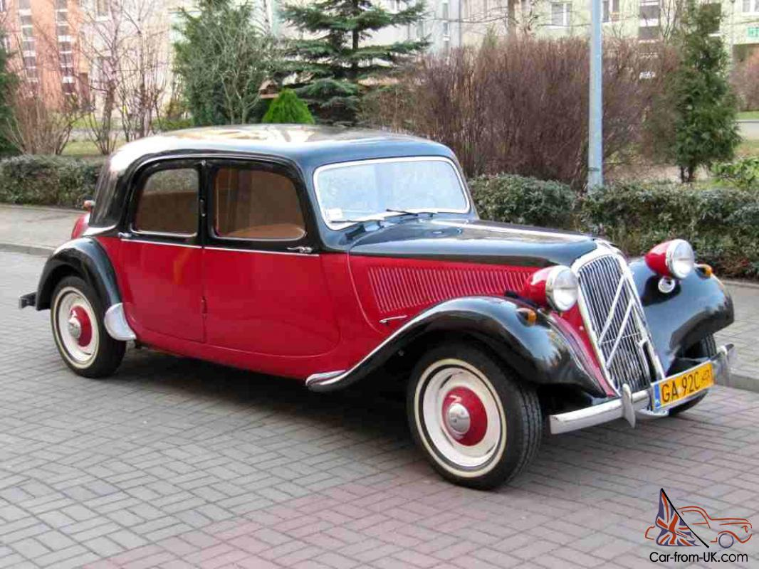 1955 citroen traction avant bn berline 11 cv