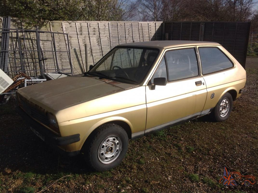 Ford fiesta mk1 classic car barn find project