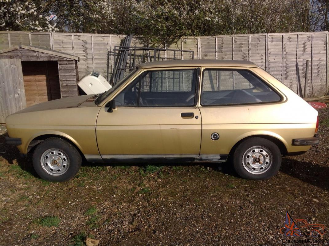 ford fiesta mk1 classic - photo #3