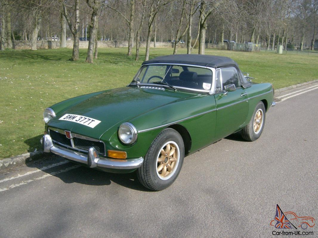 1978 mgb mg b roadster convertible chrome bumper conversion t t drives well. Black Bedroom Furniture Sets. Home Design Ideas