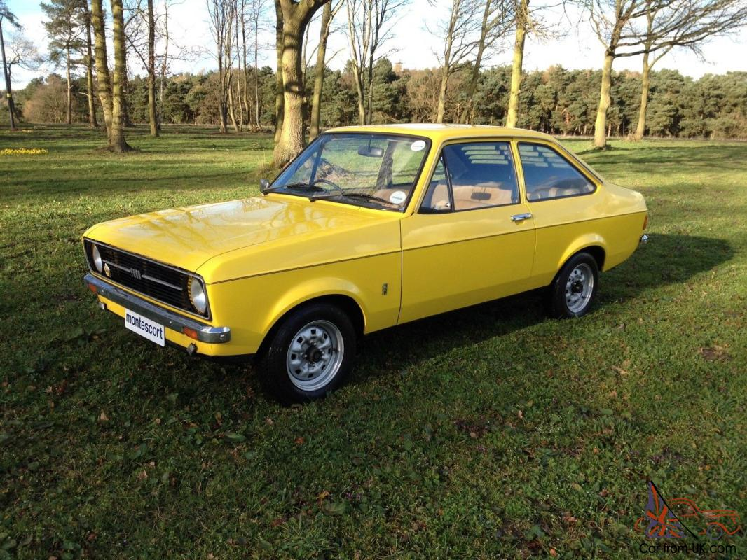 1976 ford escort mk2 1300 l 2 door very good condition. Black Bedroom Furniture Sets. Home Design Ideas