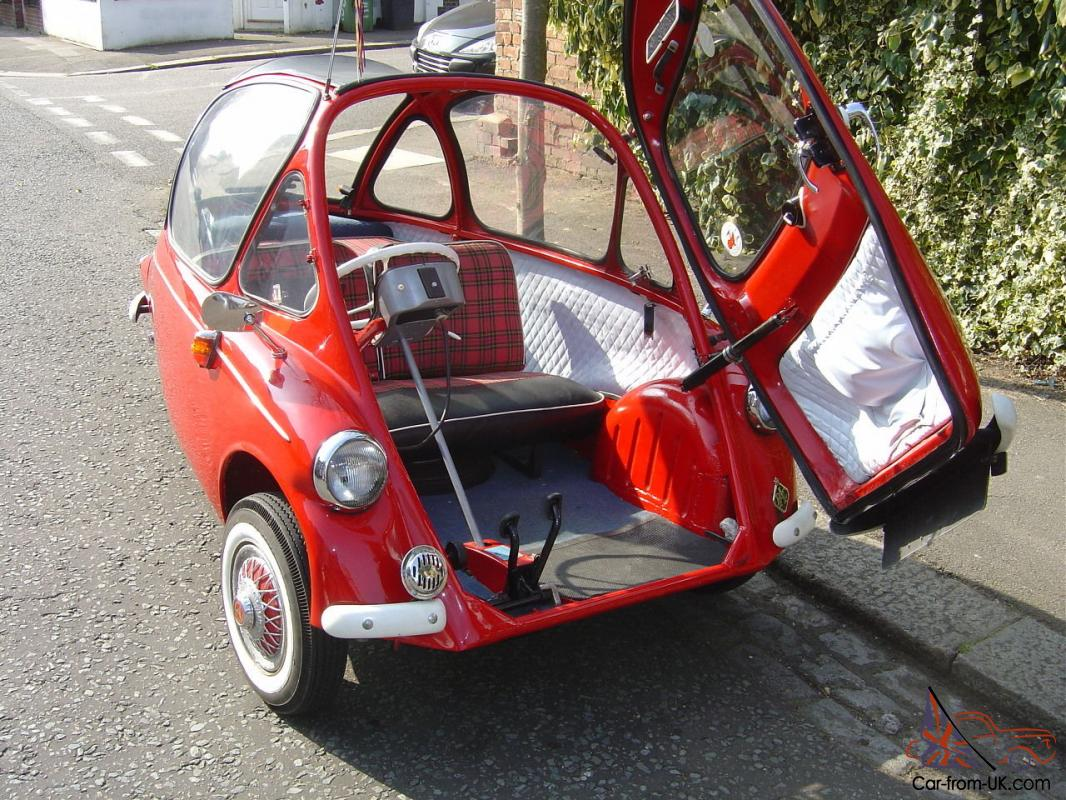 Heinkel Bubble Car Micro Car Rhd