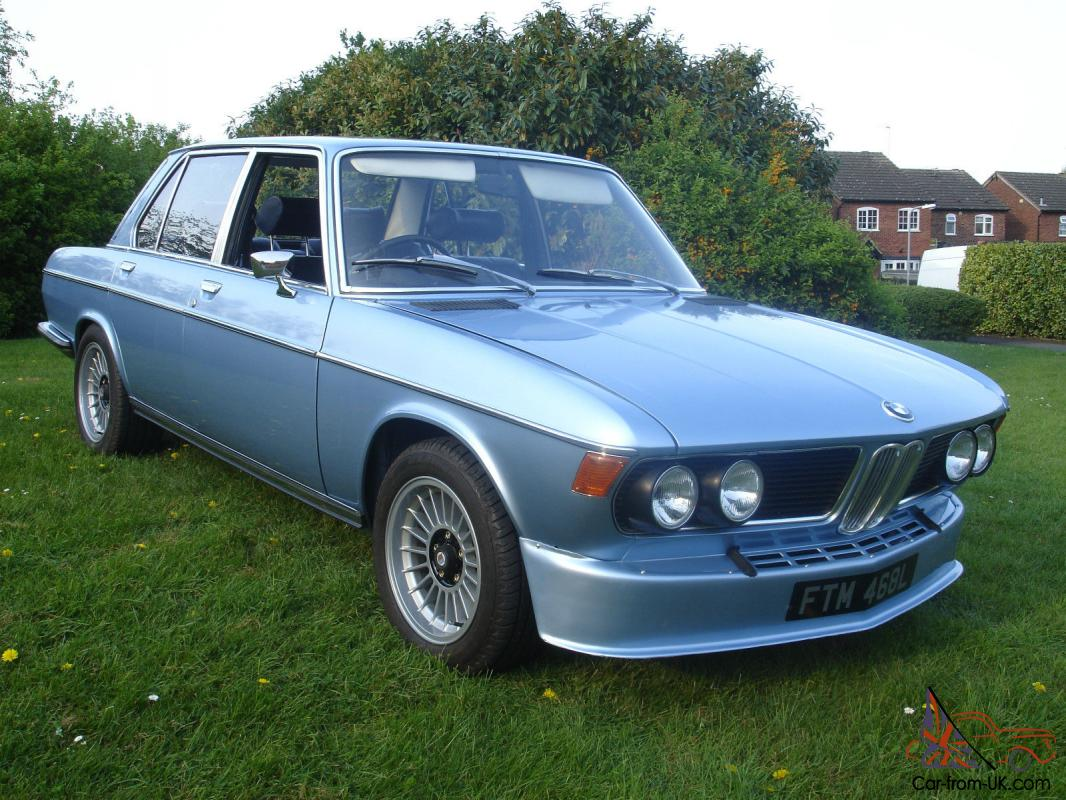 Bmw E3 3 0s 1972 Fjord Blue With Genuine 16 Quot Alpinas