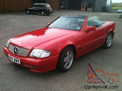 1993 mercedes benz 300 sl sports auto for 1993 mercedes benz 300sl