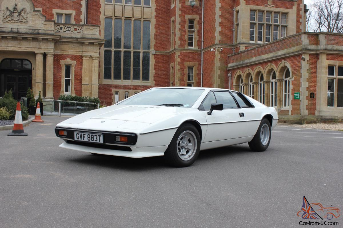 Lotus esprit s2 in monaco white 1979 for sale