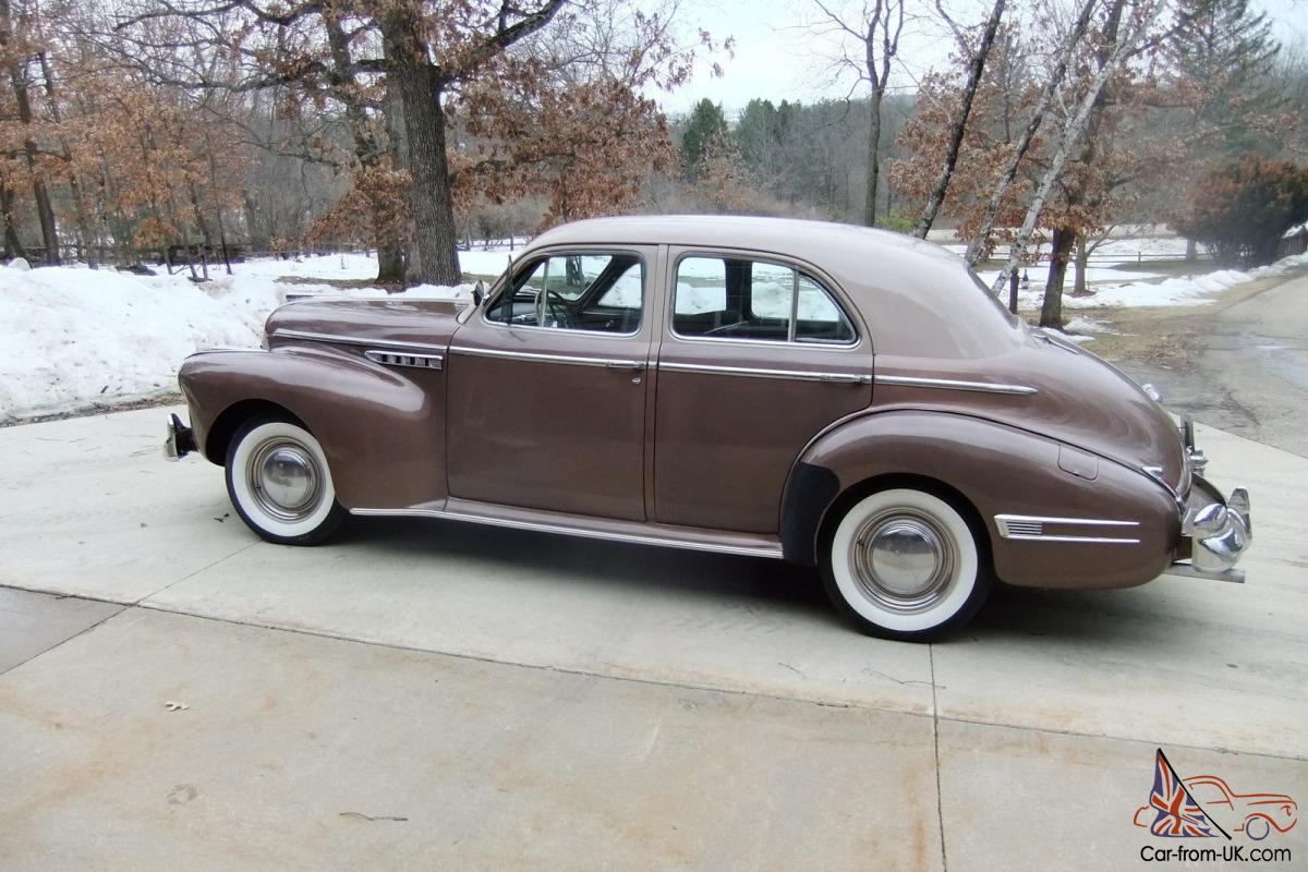 1941 buick super for 1941 buick 4 door sedan