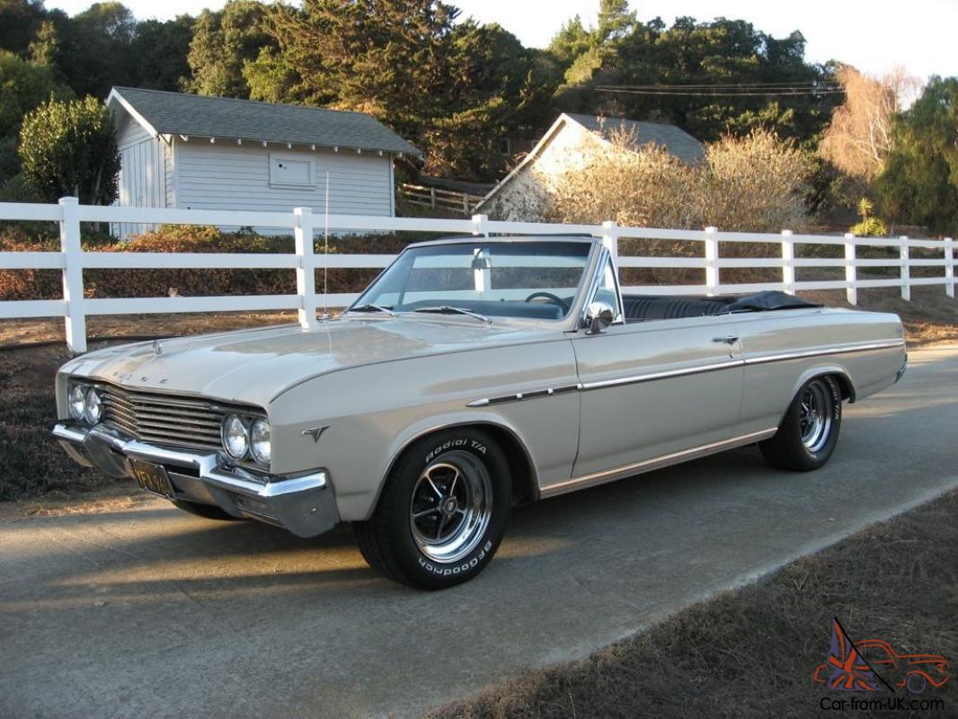 1965 buick skylark convertible ca mild custom 355 wildcat 200 r overdrive plus. Black Bedroom Furniture Sets. Home Design Ideas