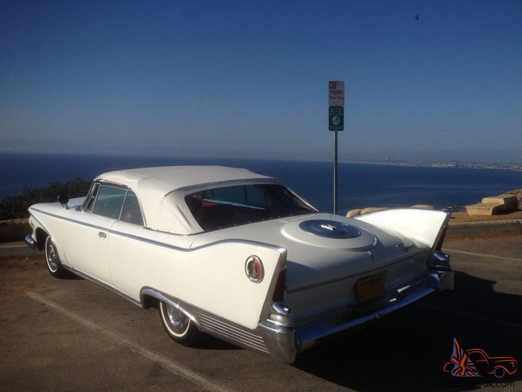 Tallest Fins Ever 1960 Plymouth Fury Convertible Much Rarer Than Color Chips 1959 Cadillac