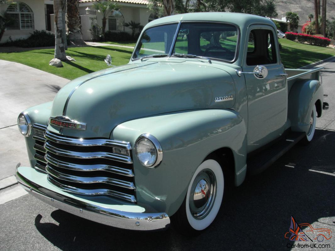 1951 chevrolet 3100 pickup 5 window shortbed 1947 1948 for 1953 5 window chevy truck for sale