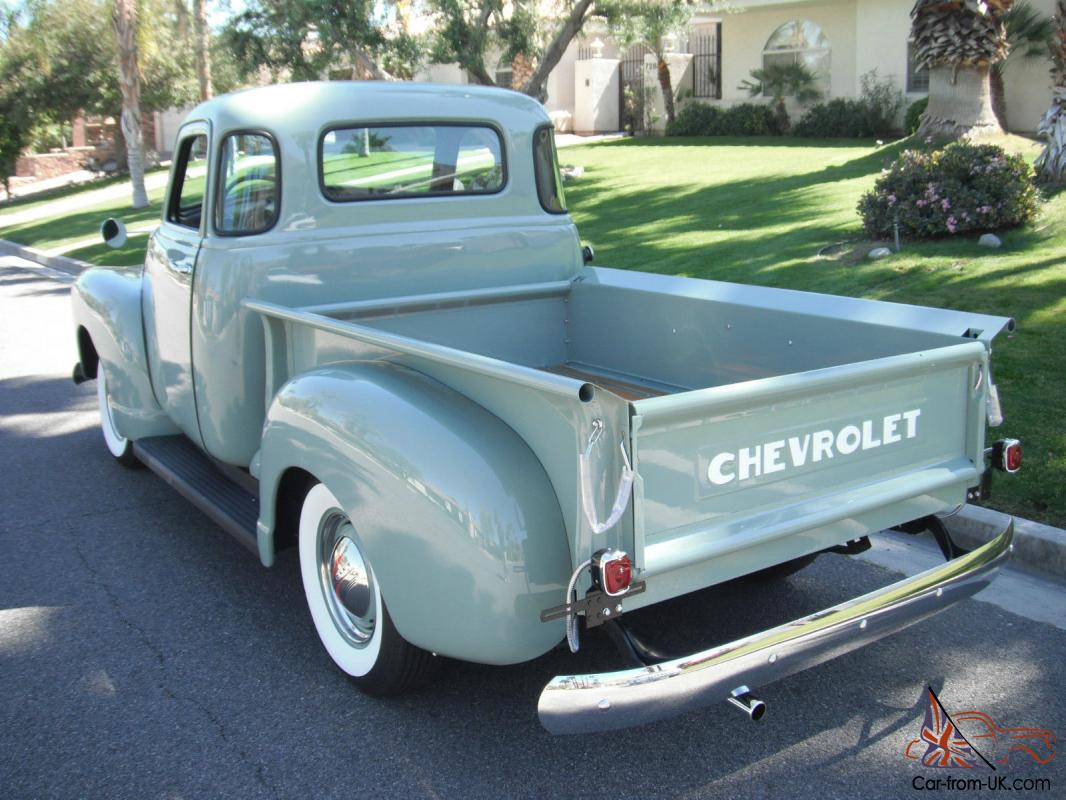 1951 chevrolet 3100 pickup 5 window shortbed 1947 1948 1949 1950