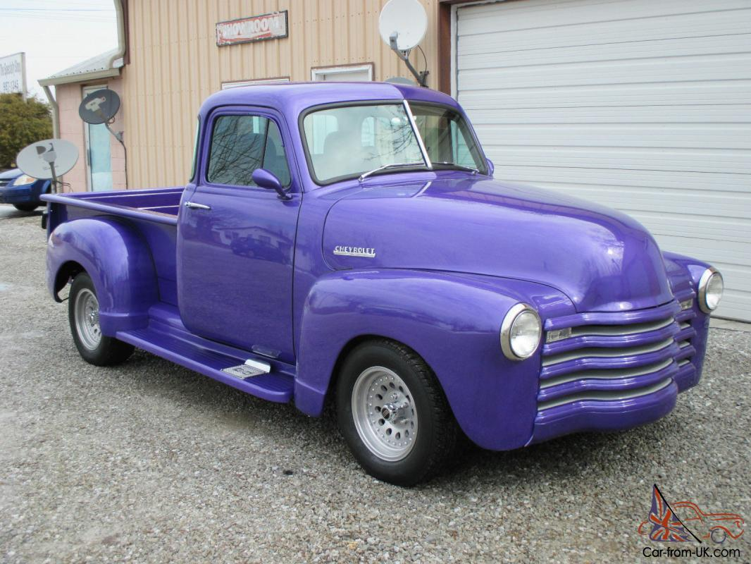 53 chevy truck restomod for sale