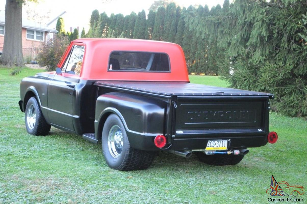 1968 Chevy C10 Stepside Tonneau Cover Wiring Diagrams 1967 Pickup Truck Prostreeted Rh Car From Uk Com S10