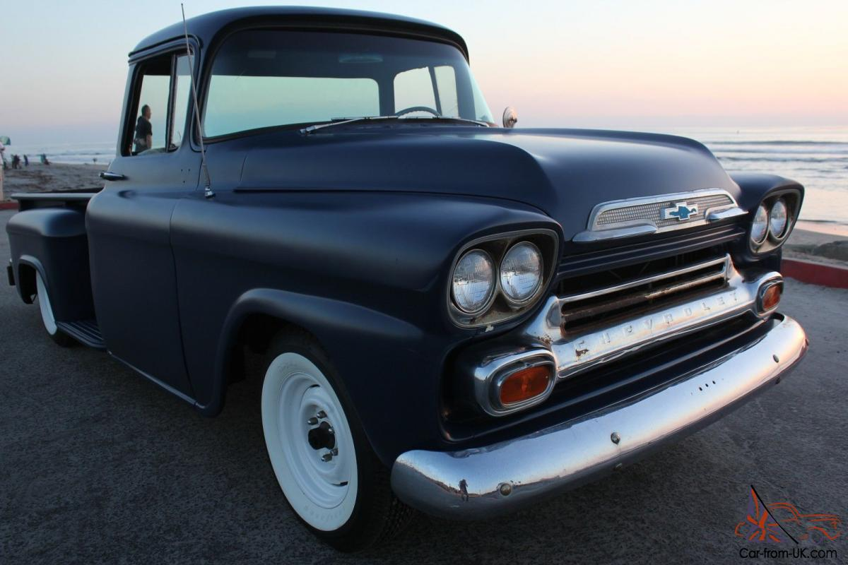 Blue Chevy Trucks Fabulous Image Is Loading With 1949 Truck Bagged Cool Big Window W Air Rear Suspension Matte