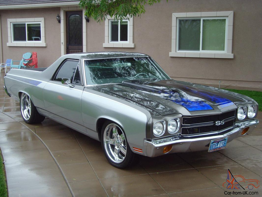 70 Chevy El Camino SS Pro Touring resto mod beautifully done well