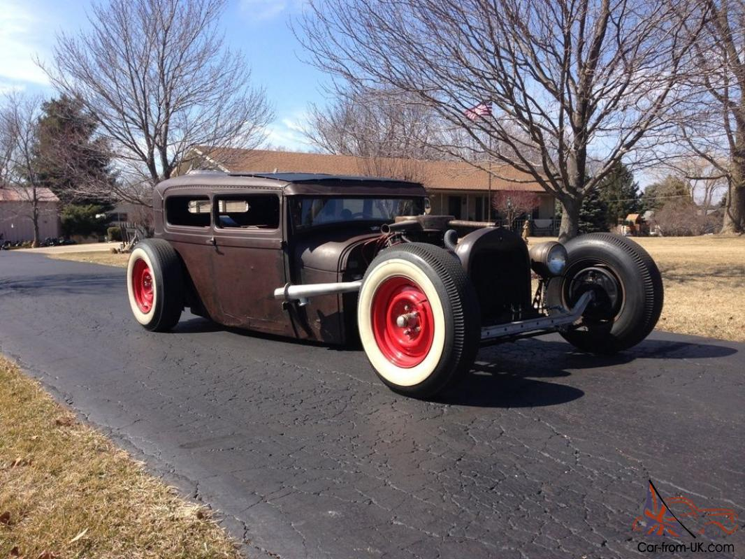 how to make a rat rod model car