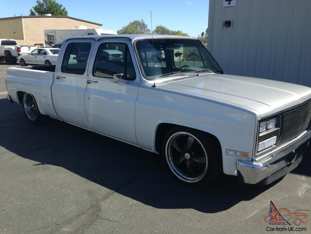 1987 Lifted Chevy Silverado 4x4 Diesel Shortbox For Sale