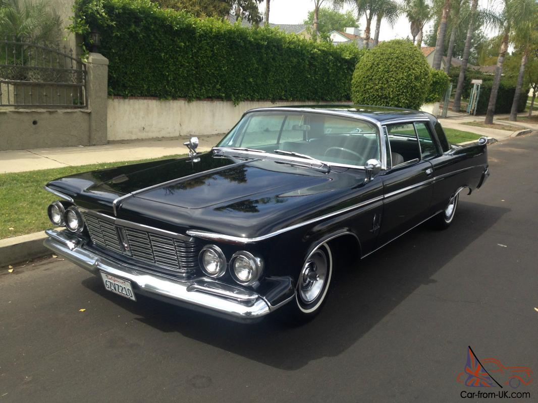 1963 Chrysler Imperial Crown Excellent Condition