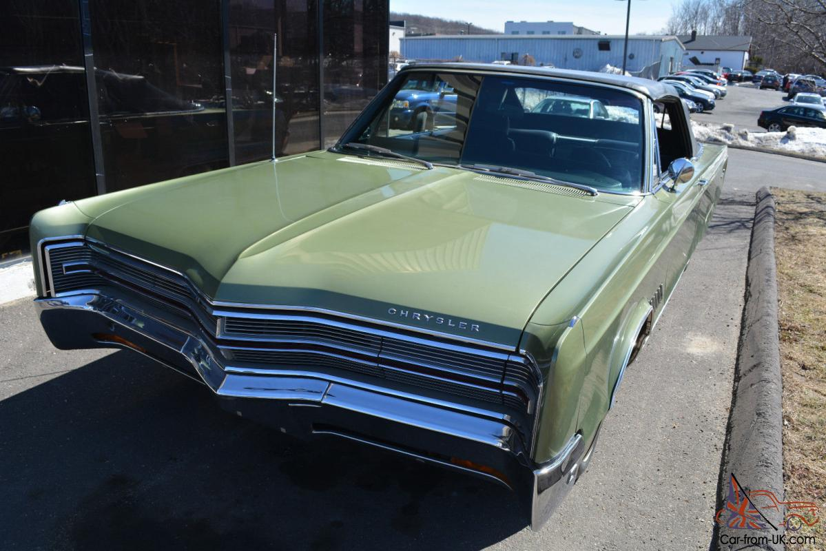 1968 Chrysler 300 Convertible D Series 440 Engine