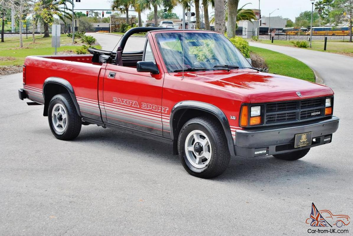 just 72 833 miles 1989 dodge dakota convertible loaded and mint truck. Cars Review. Best American Auto & Cars Review