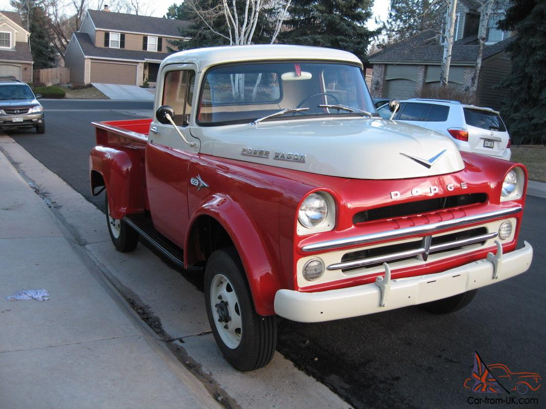 1960 dodge power wagon w100 for autos post. Black Bedroom Furniture Sets. Home Design Ideas